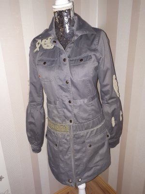 Naval Jacket grey polyester
