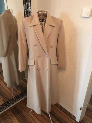 Cappotto in lana crema