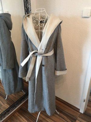 Galeries lafayette Hooded Coat grey
