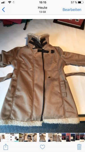 Mantel in Lammfelloptik von LTB Gr. L