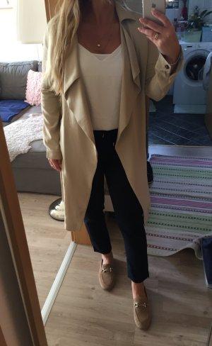 Mantel in nude beige von only Kaufpreis 60€ Instagram Look