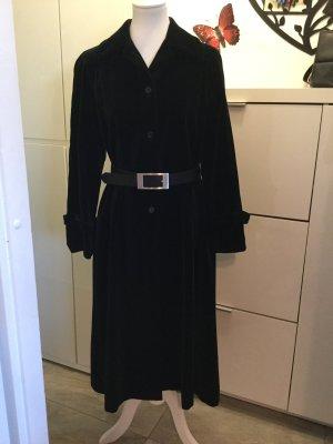Mantel in Samtoptik