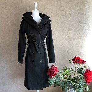 Mantel in schwarz