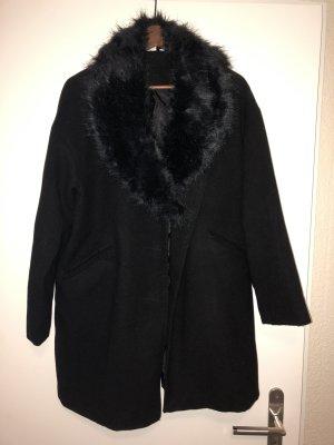 Mantel in schwarz neu Größe 42