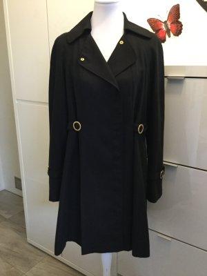 Mantel in schwarz von Apart