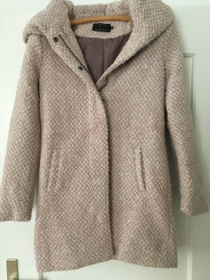 Only Cappotto con cappuccio multicolore