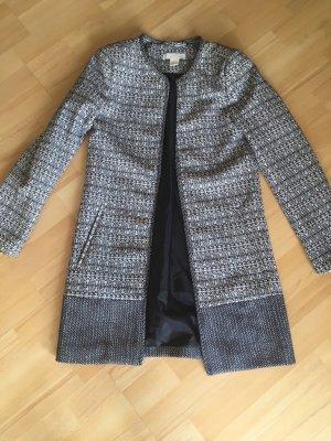 Mantel Jacke Blazer von H&M schwarz weiß Gr. 32 / 34 / XS wie neu
