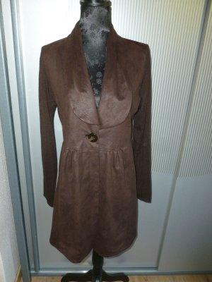 Taifun Sweat Blazer brown polyester