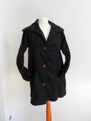 Mantel Jacke Cardigan schwarz Größe 40