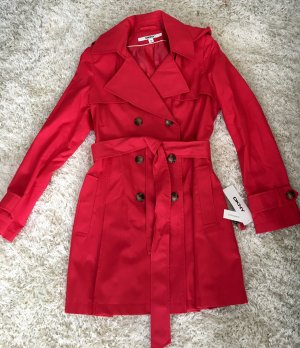 Mantel Jacke DKNY Neu! Übergangsjacke rot M leichter Mantel