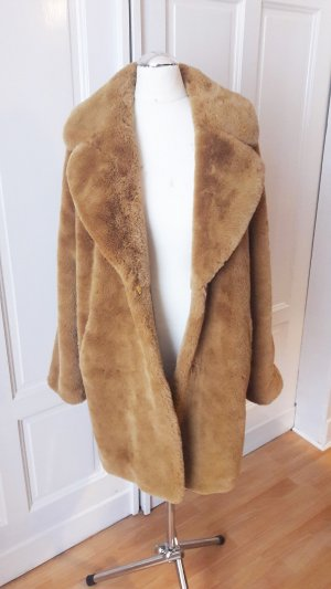 Rino & Pelle Fake Fur Coat multicolored polyester