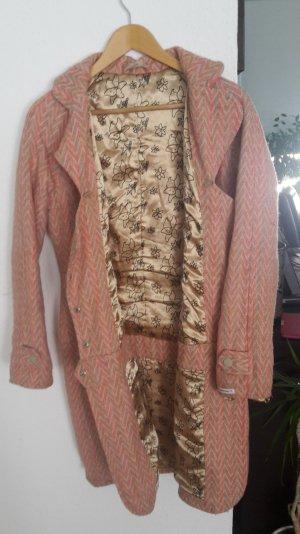 Mantel Jacke Muster Blutsschwester Zick Zack Muster ähnlich Missoni Blumen