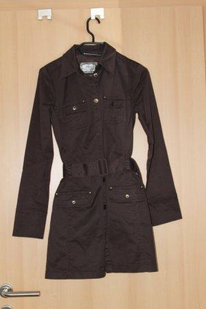 Mantel / Jacke / Trenchcoat braun, sportlich