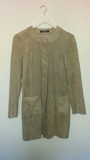 Betty Barclay Short Coat camel-cream mixture fibre