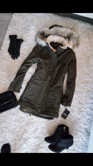 Mantel Jacke Wintermantel Winterjacke DKNY m Neu khaki