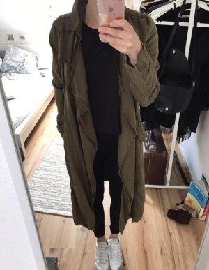 Mantel Kahki Größe 34