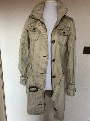 Mantel Khujo Gr.36 beige Trenchcoat