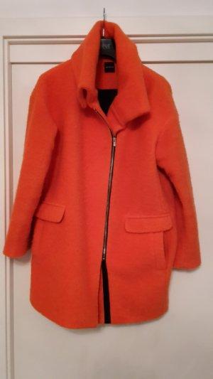 Mantel Kurzmantel orange Gr.40 Promod