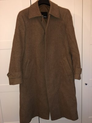 Cappotto in lana marrone chiaro