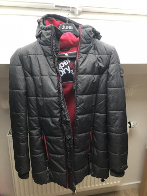 Superdry Quilted Coat multicolored