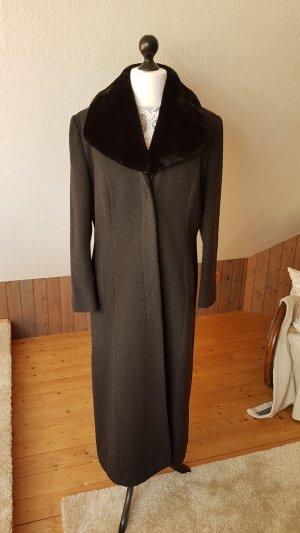 Mantel lang Wolle