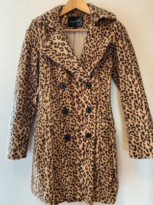 Attentif Fake Fur Coat multicolored