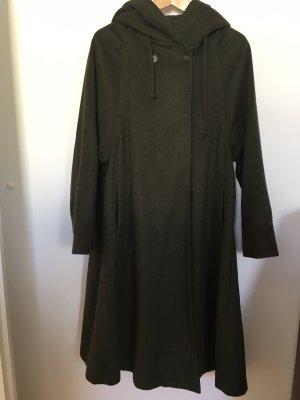 Lodenfrey Abrigo de lana verde bosque