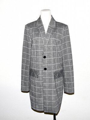 Mantel - Long Blazer - Gehrock im Karo Design von Comma Gr.40