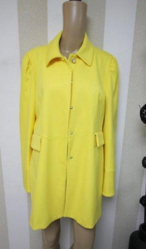 Mantel/Longblazer/Jacke in sonnigem gelb # Grösse XL enspricht D 40/D42