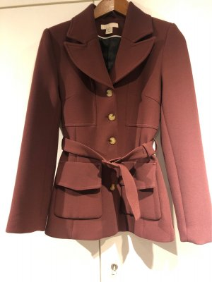 H&M Hooded Coat bordeaux