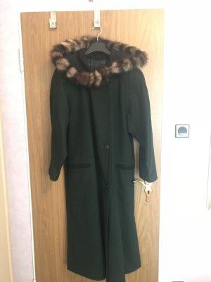 Mantel mit echten Pelz kein Gebrauch spuren