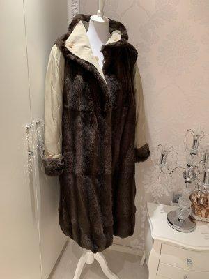 Mantel Mit Fell  2in einem  tragbar gr 40??