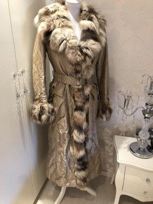 Mantel mit Fuchspelz von Sonia  Fortuna 36/38
