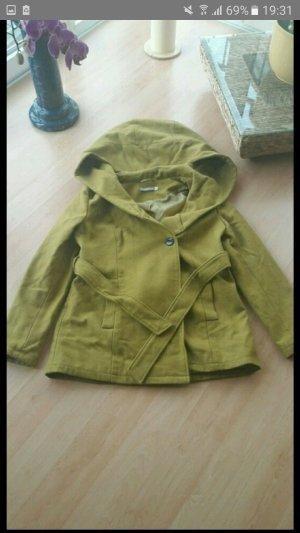 Mantel mit großer Kapuze