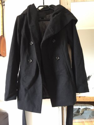 Outwear Abrigo con capucha gris antracita
