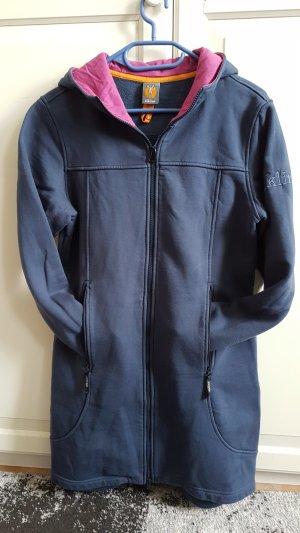 Elkline Hooded Coat violet-slate-gray
