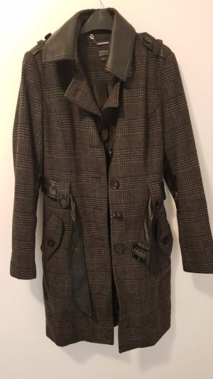 Yessica Trenchcoat noir-gris anthracite