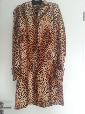 Mantel mit Leopard Muster