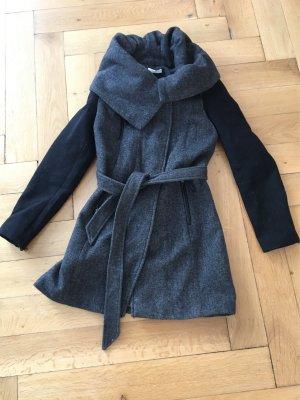 Mantel mit Oversizekragen