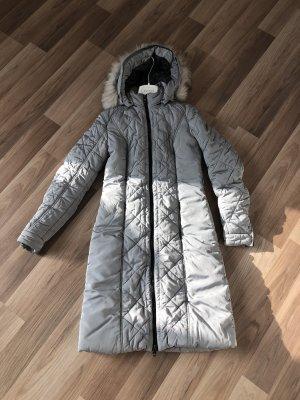 Refrigiwear Manteau à capuche argenté