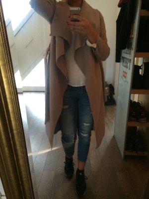 Mantel mit revers beige ( Must have )