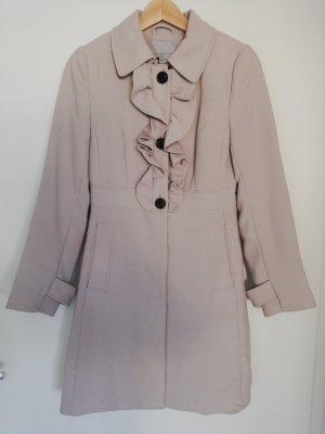 Mantel mit Rüschen von H&M in Gr. 34