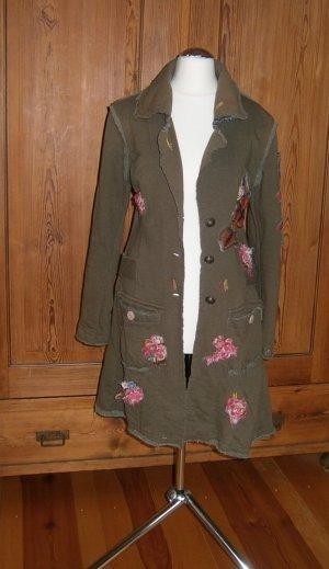 Mantel mit tollen Details * Größe 34 * Unikat