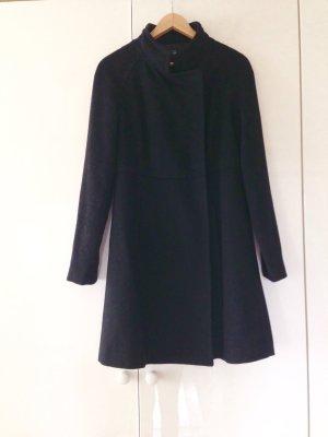 Steffen Schraut Abrigo de lana negro