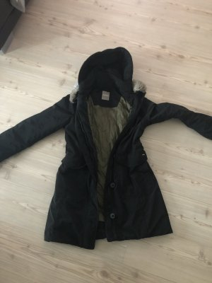 Napapijri Abrigo de invierno negro