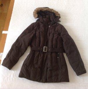 Mantel Northland schwarz Daunen 38