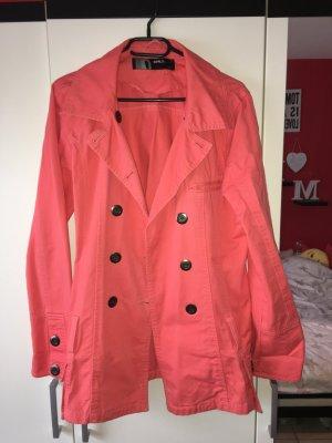 Mantel Only lachsfarben in Größe L