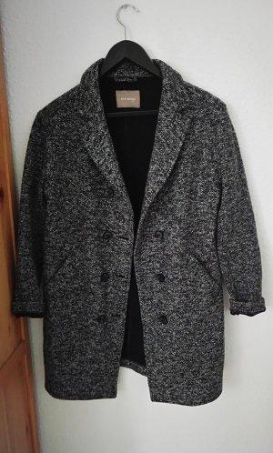 Mantel oversize gr 36 meliert
