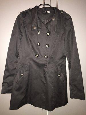 Mantel / Parka / Jacke von H&M - schwarz - Größe 38