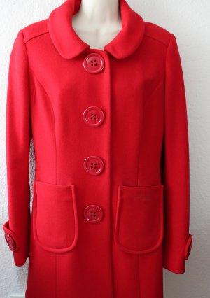 Killah Abrigo de lana rojo tejido mezclado